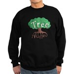 Earth Day : Tree Hugger Sweatshirt (dark)