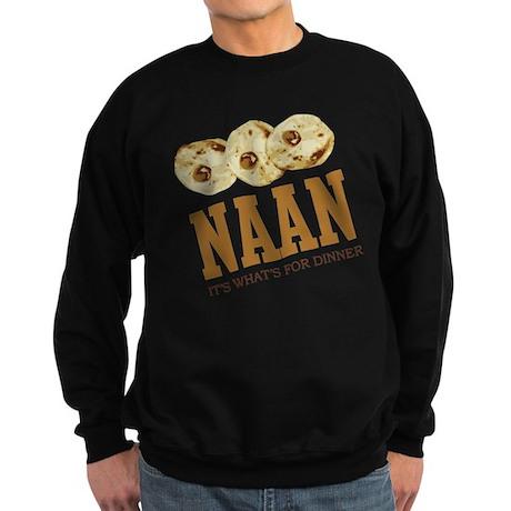 Naan - Its Whats For Dinner Sweatshirt (dark)