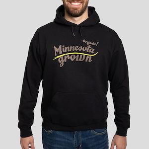 Organic! Minnesota Grown! Hoodie (dark)