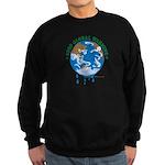 Earth Day : Stop Global Warming Sweatshirt (dark)