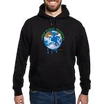 Earth Day : Stop Global Warming Hoodie (dark)