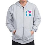 I Love (Heart) L.A. Zip Hoodie