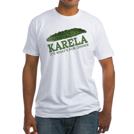 Karela - Its Whats For Dinner Fitted T-Shirt