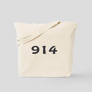 914 Area Code Tote Bag