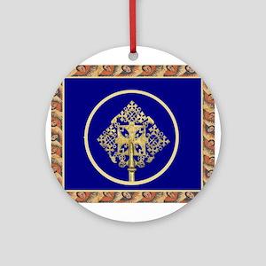 Ethiopian Orthodox Ornament (Round)