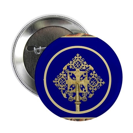 "Ethiopian Orthodox 2.25"" Button (100 pack)"