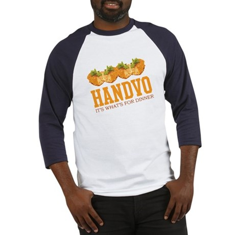 Handvo - Its Whats For Dinner Baseball Jersey