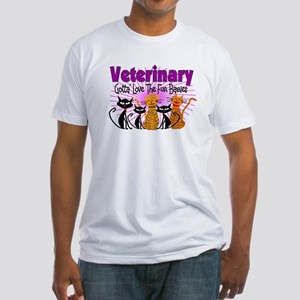 More Veterinary Fitted T-Shirt