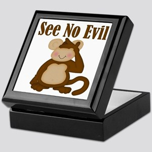 See No Evil Keepsake Box