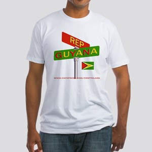 REP GUYANA Fitted T-Shirt