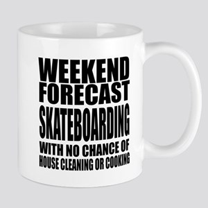 Weekend Forecast Skateboarding S 11 oz Ceramic Mug