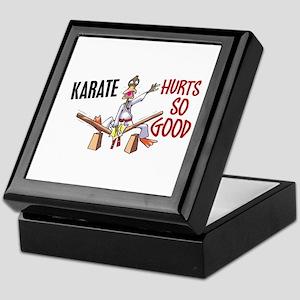 Karate Duck 3 Keepsake Box