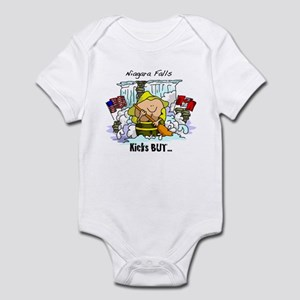 Niagara Falls Kicks But Infant Bodysuit