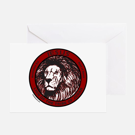 LION, TRIBE OF JUDAH Greeting Card