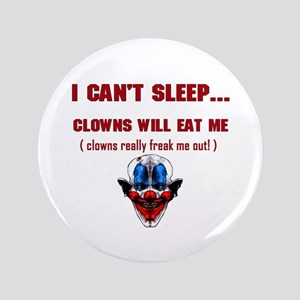 "Evil Clowns 3.5"" Button"