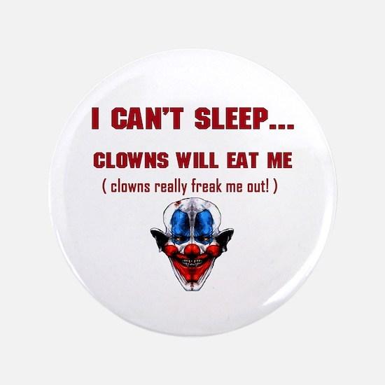 "Evil Clowns 3.5"" Button"