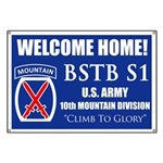 Custom 10th Mountain: Banner