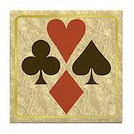 Card Symbols - Tile Coaster
