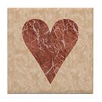 Heart Suit - Tile Coaster
