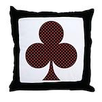 Club Suit - Throw Pillow