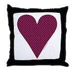 Heart Suit - Throw Pillow
