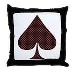 Spade Suit - Throw Pillow