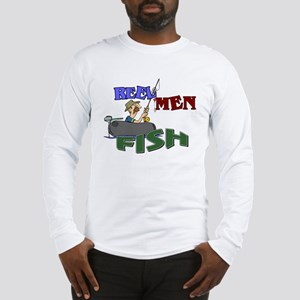 Reel Men Fish Long Sleeve T-Shirt