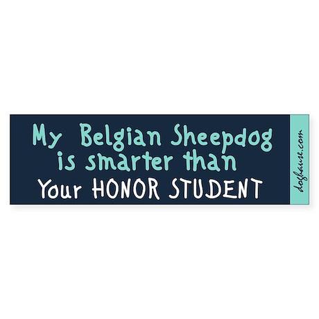 Belgian Sheepdog Bumper Sticker