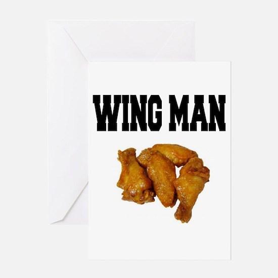 Wing Man Greeting Card