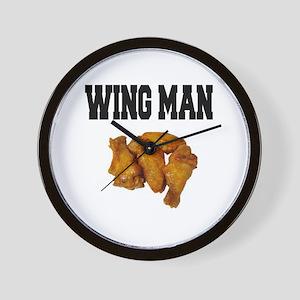 Wing Man Wall Clock