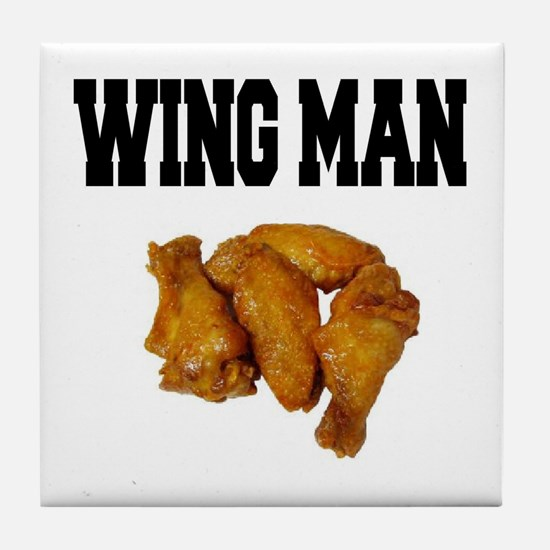 Wing Man Tile Coaster