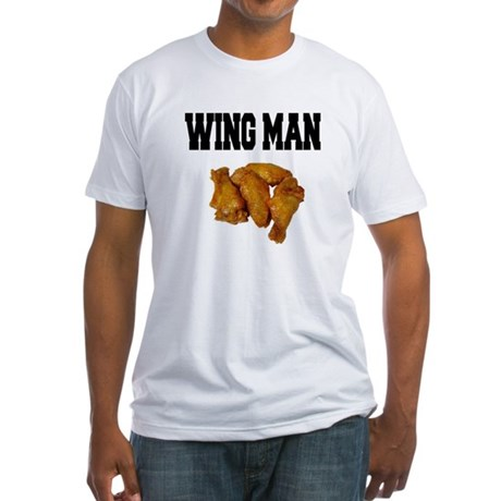 Wing Man Fitted T-Shirt