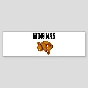 Wing Man Bumper Sticker