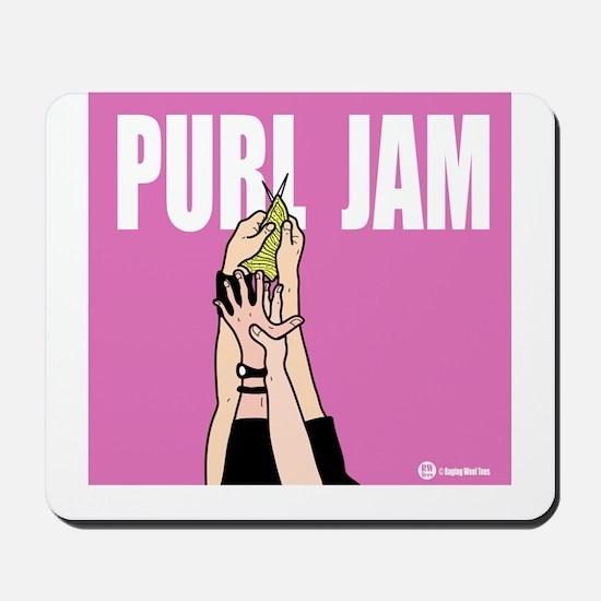 Purl Jam Mousepad