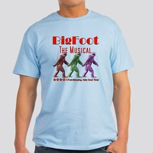 Bigfoot The Musical Light T-Shirt