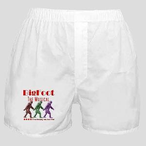 Bigfoot The Musical Boxer Shorts