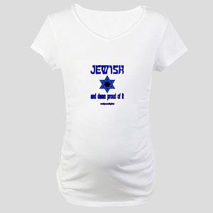 JEWISH STAR Maternity T-Shirt