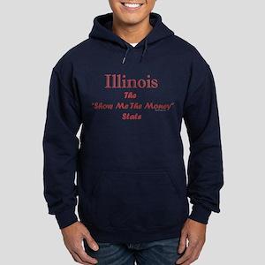 Illinois Show Me The Money Hoodie (dark)