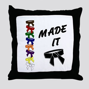 Made It 3 Throw Pillow
