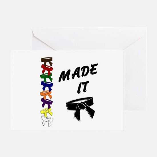 Made It 3 Greeting Card