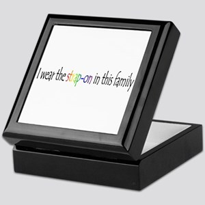 I wear the strap-on in this f Keepsake Box