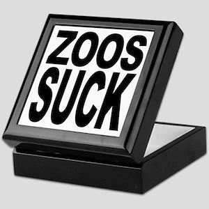 Zoos Suck Keepsake Box