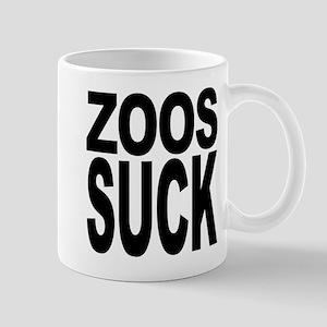 Zoos Suck Mug