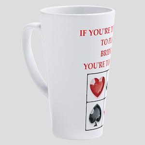 bridge 17 oz Latte Mug