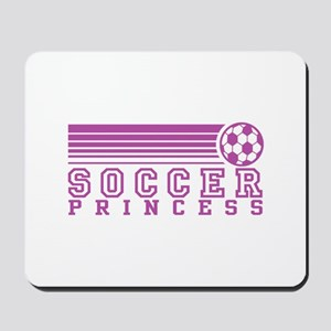Soccer Princess Mousepad