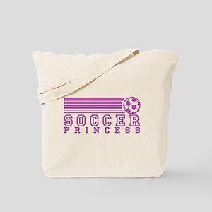 Soccer Princess Tote Bag
