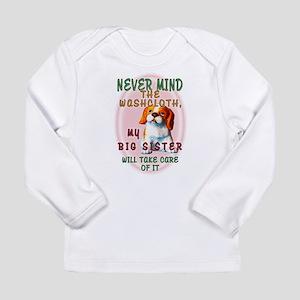 Never Mind for Girls Long Sleeve Infant T-Shirt