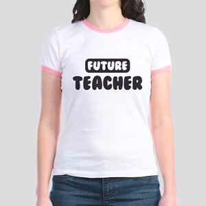 Future Teacher Jr. Ringer T-Shirt