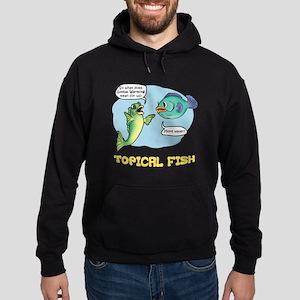 Topical Fish Hoodie (dark)