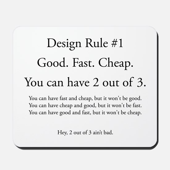 Design Rule Long Mousepad